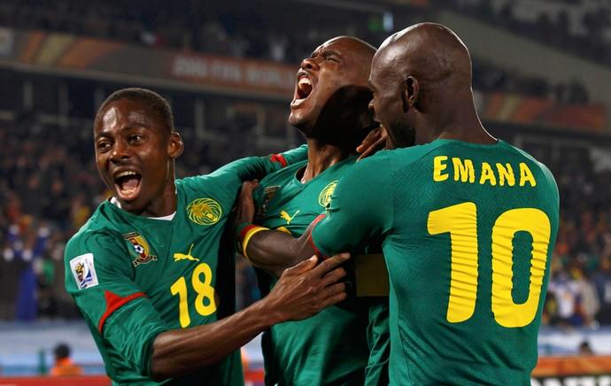 Etoo Camarões (Foto: Reuters)