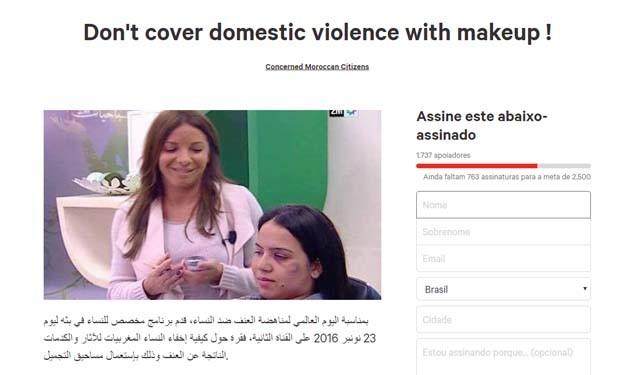 Mulheres criaram petição contra a emissora 2M (Foto: Reprodução)