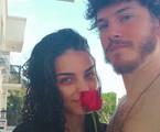 Caio Paduan e a namorada, Julia Konrad | Reprodução