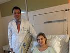 Médico de Urach explica risco de paralisia nas pernas da apresentadora