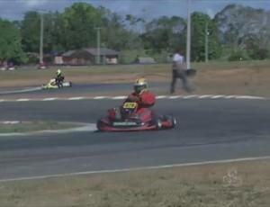 Segunta etapa do Estadual de kart (Foto: Reprodução/TV Cacoal)