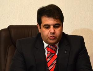 Onivaldo Freitas, diretor jurídico do São José-SP (Foto: Danilo Sardinha/Globoesporte.com)