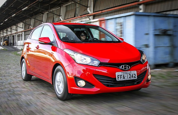 Hyundai HB20 1.0 (Foto: Rafael Munhoz/Autoesporte)