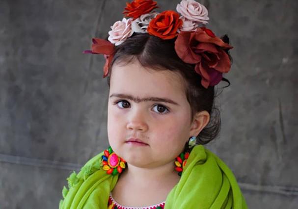 Crianças no Dia das Bruxas (Foto: Reprodução)