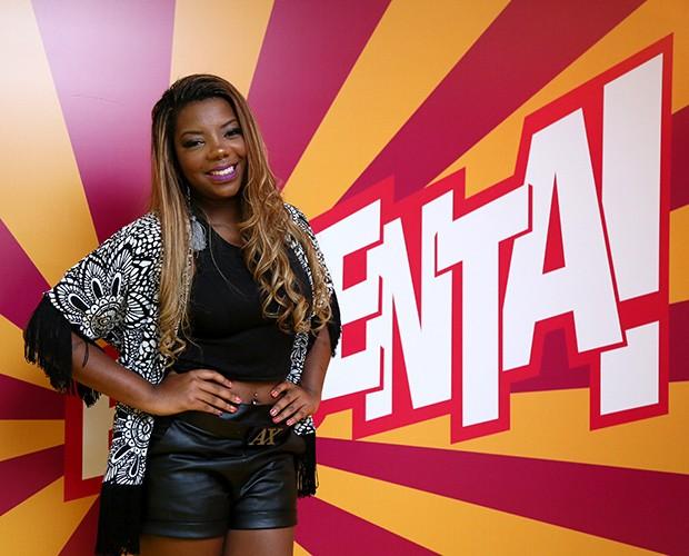 Ludmilla marca presença em gravação pelo aniversário de Regina Casé (Foto: Isabella Pinheiro/Gshow)