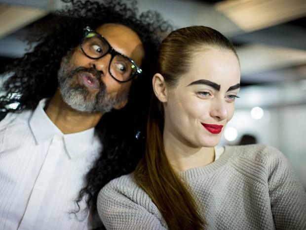 Backstage Patricia Viera Rio Moda Rio (Foto: Fabiano Battaglin)