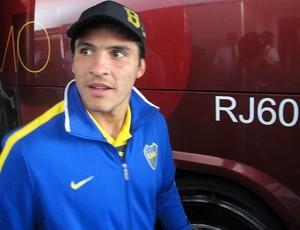 Cristian Chavéz, meia do Boca Juniors (Foto: Rafael Cavalieri / Globoesporte.com)