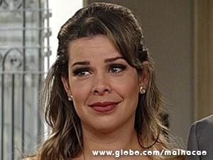 Na trama, Bernadete sonha em se casar na igreja (Foto: Malhação / TV Globo)