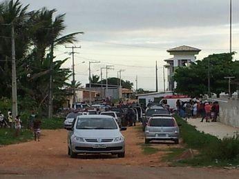Termina após quase 24h rebelião no presídio de N. S. da Glória, SE (Foto: Anderson Roberto/Arquivo Pessoal)