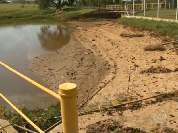 Itu decreta racionamento e corta abastecimento de água após as 20h (Foto: Reprodução/TV TEM)
