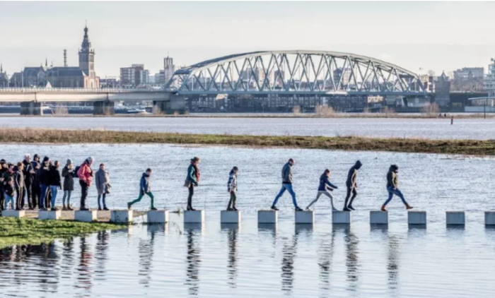 Ponte Zalige (Foto: Rutger Hollander/Cortesia da NEXT Architects)