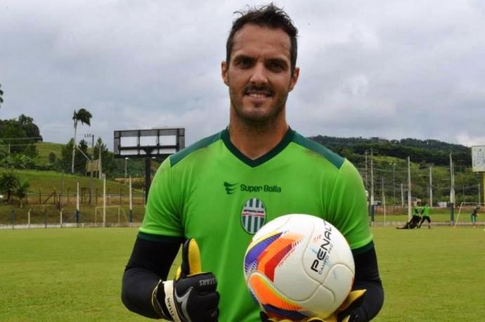 Rafael Cordova Metropolitano goleiro (Foto: Sidnei Batista/Metropolitano)
