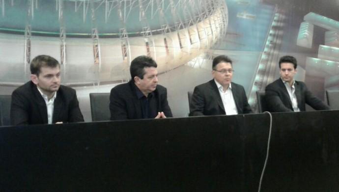 Ceará Arena Castelão contrato (Foto: Divulgação/Cearasc.com)
