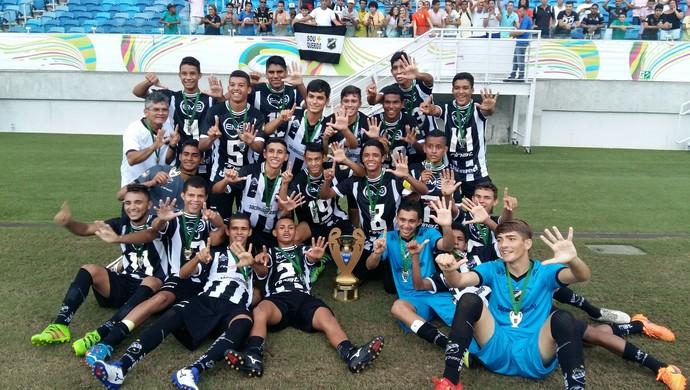 ABC campeão Campeonato Potiguar 2016 Sub-17 - Arena das Dunas - ABC 1 x 0 América-RN (Foto: Jocaff Souza/GloboEsporte.com)