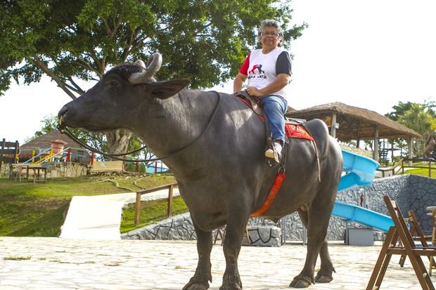 Marlene Mattos comanda hotel fazenda em Sergipe (Foto: Anderson Barros/EGO)