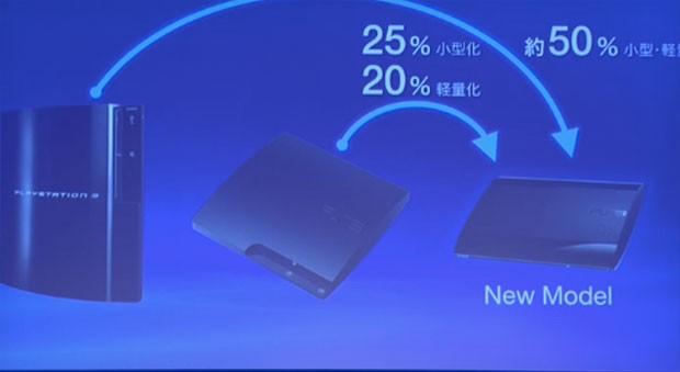 Sony mostrou evolução do PlayStation 3 em evento no Japão, que foi transmitido pela internet (Foto: Reprodução)