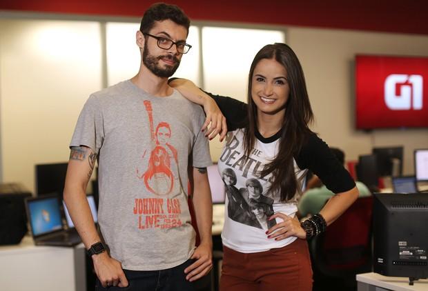 Cauê Fabiano e Mari Palma  (Foto: Iwi Onodera/EGO)