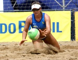 Júlia Schmidt, jogadora capixaba de vôlei de praia (Foto: Geremias A. Junior/CBV)