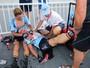 No Mundial do Catar, ciclistas sofrem colapsos com sol forte e calor de 40ºC