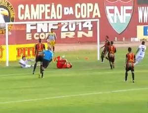 Globo FC x ABC (Foto: Reprodução / Inter TV Cabugi)