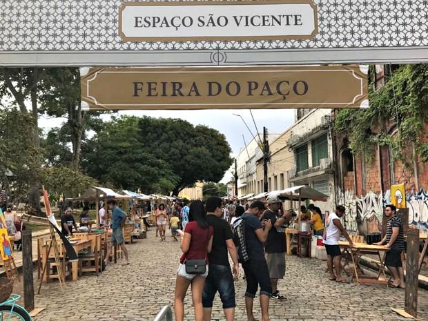 Feira do Paço, em Manaus (Foto: Patrick Marques/G1 AM)
