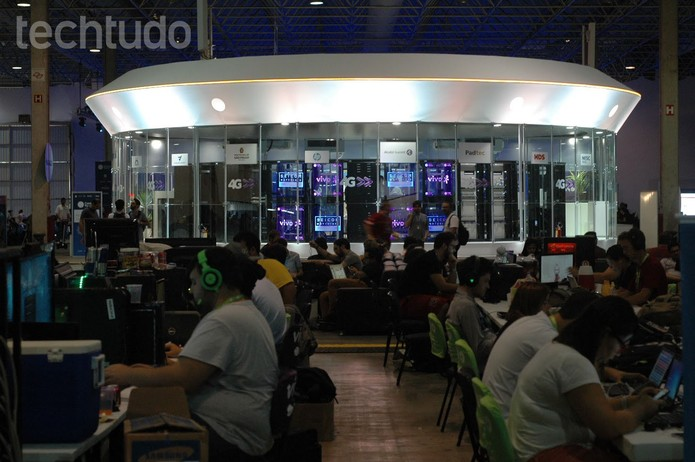 Ovni da Vivo na Campus Party 2015 (Foto: Paulo Figueiredo/ TechTudo)