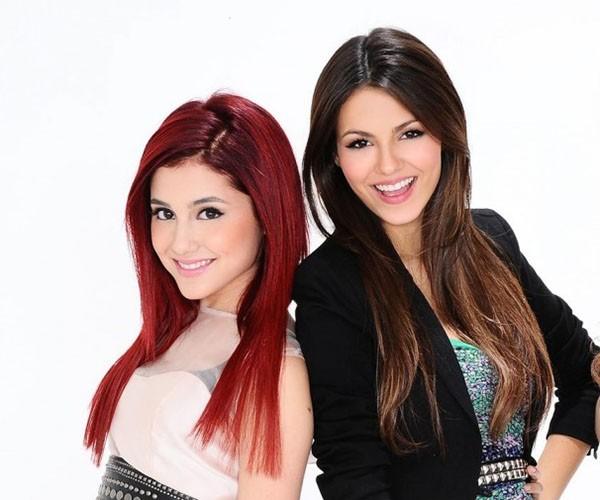 Victoria Justice e Ariana Grande (Foto: Divulgação)