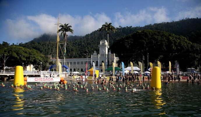 Campeonato Brasileiro de maratona aquática etapa Angra dos REis (Foto: Satiro Sodré / SSPress)