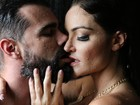 Molhados! Laura Keller e Jorge Sousa posam para ensaio sexy
