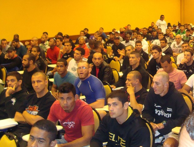 lutadores seletiva TUF Brasil II MMA (Foto: Ivan Raupp / Globoesporte.com)