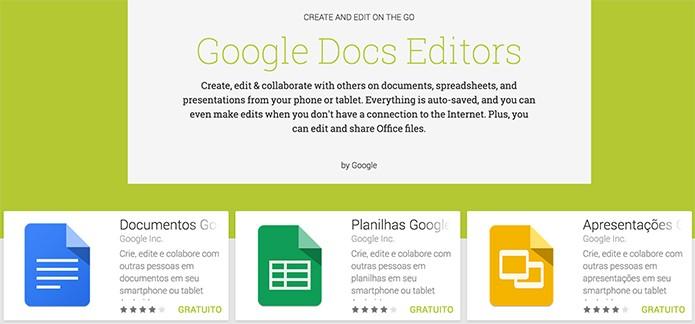 Pacote de apps do Google ganhou update no Android (Foto: Divulgação)
