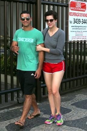 Sergio Malheiros e Sophia Abrahão (Foto: André Freitas/Agnews)