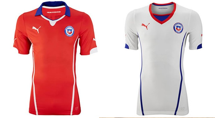 chile camisa copa Every single World Cup kit (all 32 teams, home & away) on one page