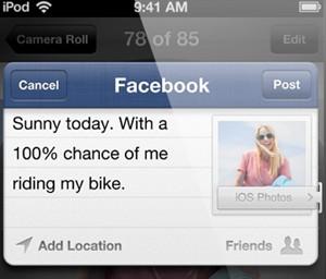 Novo sistema traz integração com o Facebook (Foto: Divulgação)