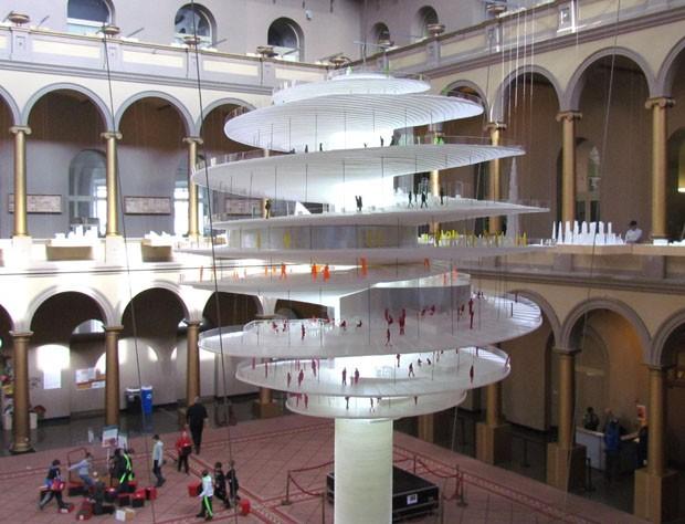 Exposicao traz a obra do arquiteto Bjarke Ingels (Foto: Paul Clemence / divulgação)