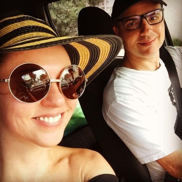 Guta Stresser e o marido (Foto: Reprodução / Instagram)