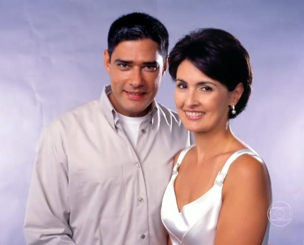 William e Fátima têm três filhos (Foto: TV Globo)