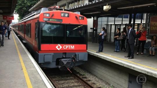 Com falhas em trilhos, CPTM reduz velocidade de trens em SP em até 77 %