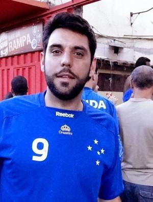 Juliano Claus Cardoso, torcedor do Cruzeiro (Foto: Marcos Antônio Astoni / Globoesporte.com)