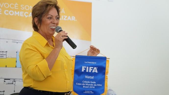 Rosalba Ciarlini, governadora do Rio Grande do Norte (Foto: Augusto Gomes)