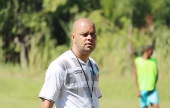 Técnico quer vaga na Copa do Brasil para Angra voltar a sorrir após queda