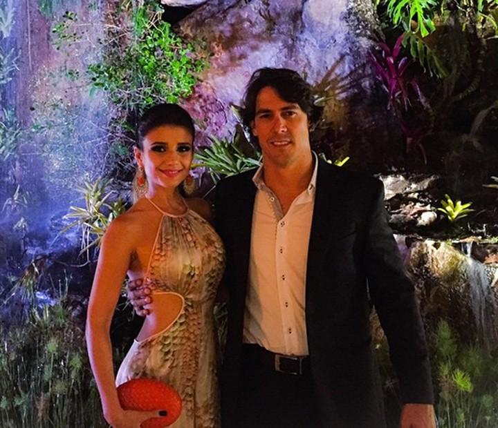 Paula Fernandes e o namorado Henrique (Foto: Arquivo Pessoal)