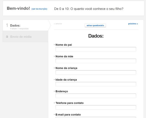 Cadastre-se no Meu Baixinho é Dez (Foto: TV Xuxa/TV Globo)