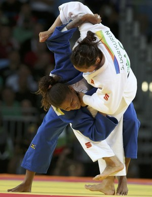 Rafaela Silva judô (Foto: Reuters/Toru Hanai)