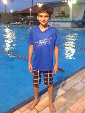 Pedro Xaud, de 11 anos, trouxe na bagagem três medalhas, sendo uma de prata e duas de bronze (Foto: Divulgação)