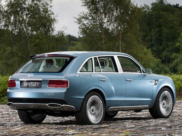 Bentley EXP 9 F (Foto: Divulgação)
