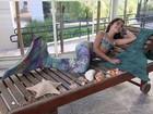 Venda de 'caudas de sereia' rende faturamento de até R$ 60 mil por mês