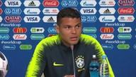 Thiago Silva volta a ser capitão da seleção brasileira