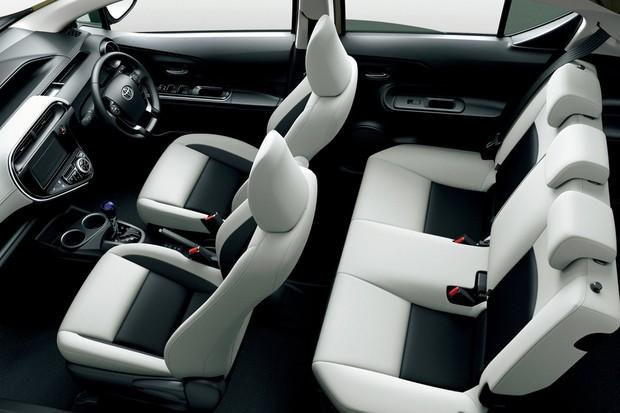 Toyota Prius C passar por facelift no Japão (Foto: Divulgação)