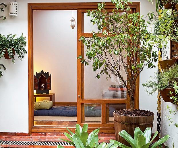 Canto zen  Casa e Jardim  Futon